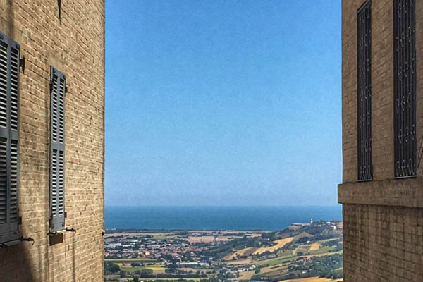 Adriatic Sea Views from Recanati